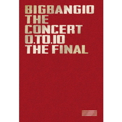 BIGBANG10 THE CONCERT : 0.TO.10 -THE FINAL- DELUXE EDITION <初回生産限定/Blu-ray(3枚組)+LIVE CD(2枚組)+PHOTO BOOK+スマプラムービー>(Blu-ray Disc)