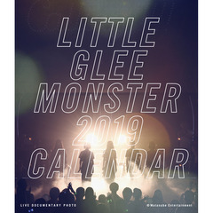 Little Glee Monster/Live Tour 2018~Calling !!!!!/2019 Live Photo Calendar/卓上カレンダー