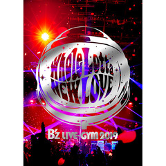 B'z/B'z LIVE-GYM 2019 -Whole Lotta NEW LOVE- 【Blu-ray】<メーカー特典:A4クリアファイル付き>(Blu-ray)