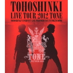 東方神起 LIVE TOUR 2012 TONE<オリジナルクリアファイルA付き>(Blu-ray Disc)