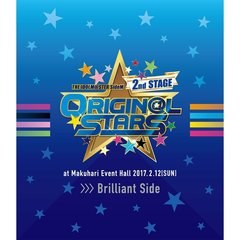 THE IDOLM@STER SideM 2nd STAGE ~ORIGIN@L STARS~ Live Blu-ray [Brilliant Side](Blu-ray Disc)