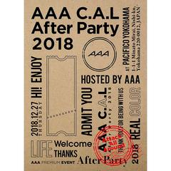 AAA/AAA C.A.L After Party 2018(Blu-ray Disc)
