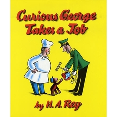 【洋書】Curious George Takes a Job