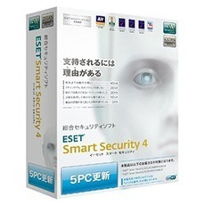 ESET Smart Security V4.0 5PC更新(PCソフト)