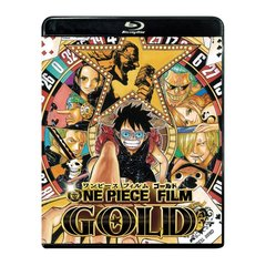 ONE PIECE FILM GOLD Blu-ray スタンダード・エディション<セブンネット限定特典モバイルスマホポーチ付き>(Blu-ray Disc)(Blu-ray)