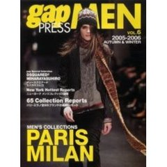 Gap press men Vol.6(2005-2006autumn & winter) Paris Milan men's collections