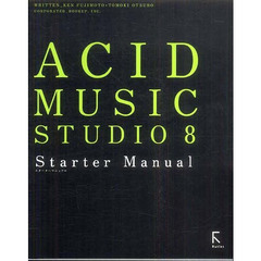 ACID MUSIC STUDIO 8 Starter Manual