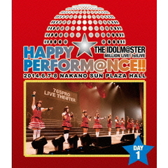 THE IDOLM@STER MILLION LIVE! 1stLIVE HAPPY☆PERFORM@NCE !! Blu-ray Day 1(Blu-ray Disc)