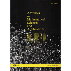 Advances in Mathematical Sciences and Applications Vol.19,No.2(2009)