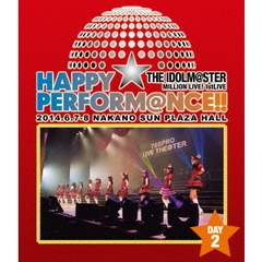 THE IDOLM@STER MILLION LIVE! 1stLIVE HAPPY☆PERFORM@NCE !! Blu-ray Day 2(Blu-ray Disc)