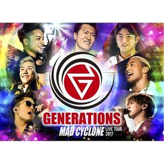 GENERATIONS from EXILE TRIBE/GENERATIONS LIVE TOUR 2017 MAD CYCLONE<通常盤>(Blu-ray2枚組)<購入特典無し>(Blu-ray Disc)