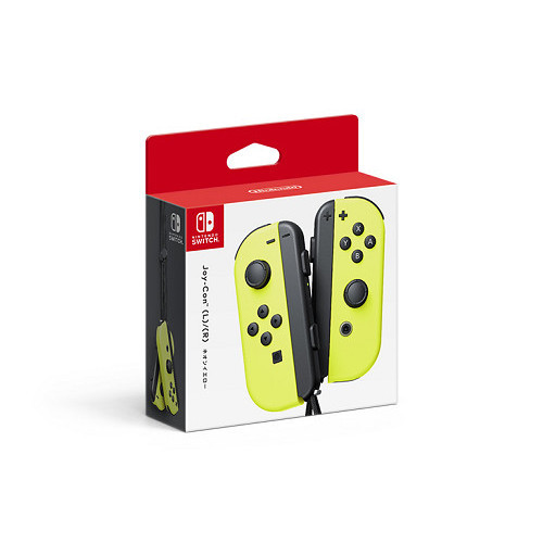 Nintendo Switch Joy-Con (L)/(R)ネオンイエロー
