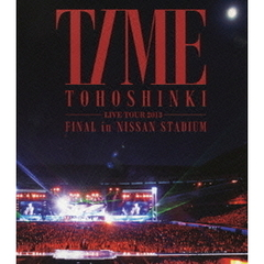 東方神起 LIVE TOUR 2013 TIME  FINAL in NISSAN STADIUM<オリジナルクリアファイルA付き> (Blu-ray Disc)