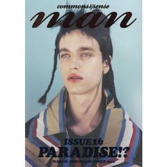 commons & sense man ISSUE16(2014MARCH SPRING&SUMMER)