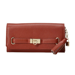 BASIC 5 BELT FLAP LONG WALLET