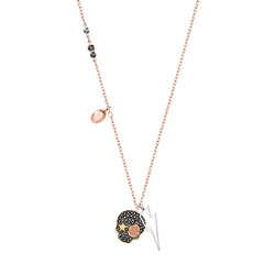 DUO:NECKLACE SKULL DMUL/MIX
