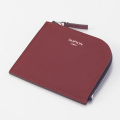 SMALL ZIPPER WALLET(レッド)