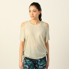 W YOGA SLASH SH SHOULDER LOOSE TEE