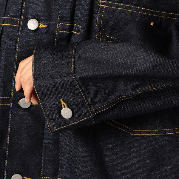 beautiful people selvage denim blouson