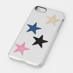 Star Patch Case Silver for iPhone 7