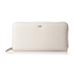 NEO SHRINK(SLG) ROUND ZIPPED WALLET