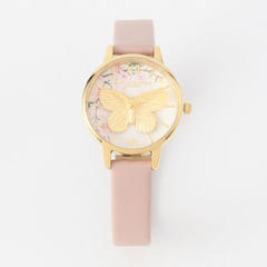 Pretty Blossom-Midi 3D Butterfly Vegan Rose Sand & Gold
