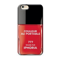 Vernis Rouge Pur iPhone 6