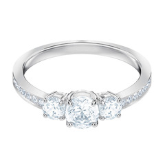 ATTRACT TRILOGY:RING RND CZWH/RHS 55