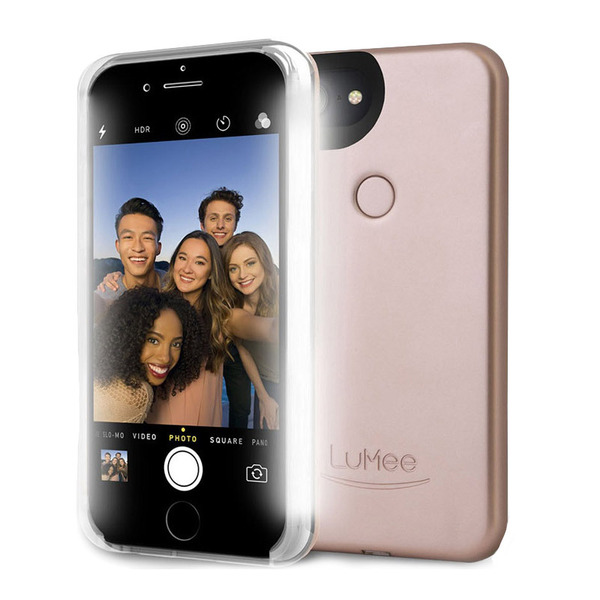 LuMee Two  iPhone 7,6S,6 - Rose Matte