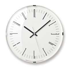 Draw wall clock(電波時計)
