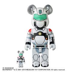 BE@RBRICK PATLABOR AV-98 INGRAM 100% & 400%セット