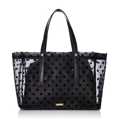 MESH DOT LUNCH TOTE R03-1-00049