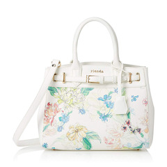 FRILL ROSE FLOWER PRINT BELT TOTE S