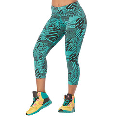 ZUMBA(ズンバ) Zumba Happiness Crop Leggings