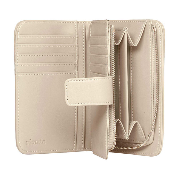 DECO QUILTING TWO FOLD WALLET