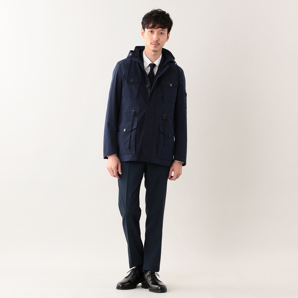 【TROTTER / STANSTED】 ストレッチメモリータフタ ブルゾン