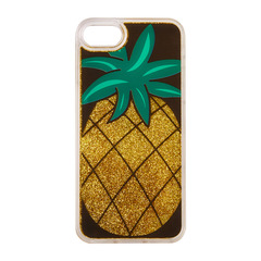 Pineapple with Golden Glitter