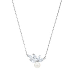 LOUISON PEARL:PENDANT CZWH/CRY/RHS