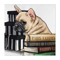 ポップアート FASHION BOOKS FRENCHIE