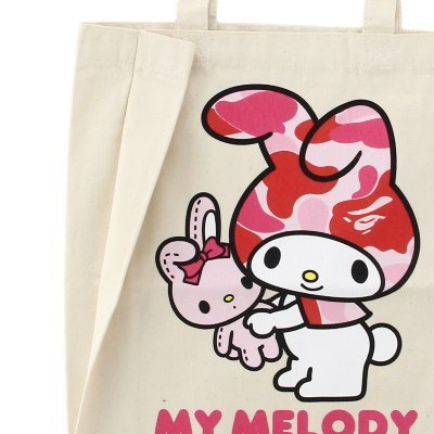 MY MELODY × BABY MILO TOTE BAG