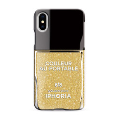 Nailpolish Golden Days for iPhone X