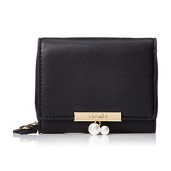 PEARL THREE FOLD FLAP WALLET R03-2-00065