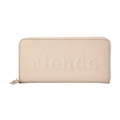 LOGO EMBOSSED ROUND WALLET
