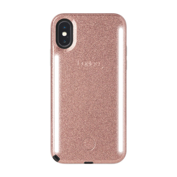 DUO iPhone X/XS Rose Glitter