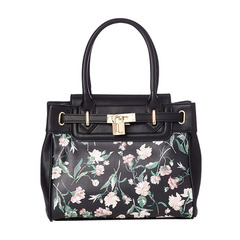 OLD ROSE FLOWER PRINT TOTE S
