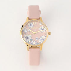 Groovy Blooms - Eco Candy Pink & Gold 30mm