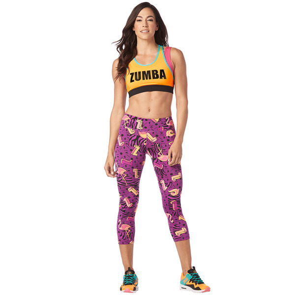 I Want My Zumba Crop Leggings