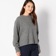 le ciel blue Crew Neck Knit