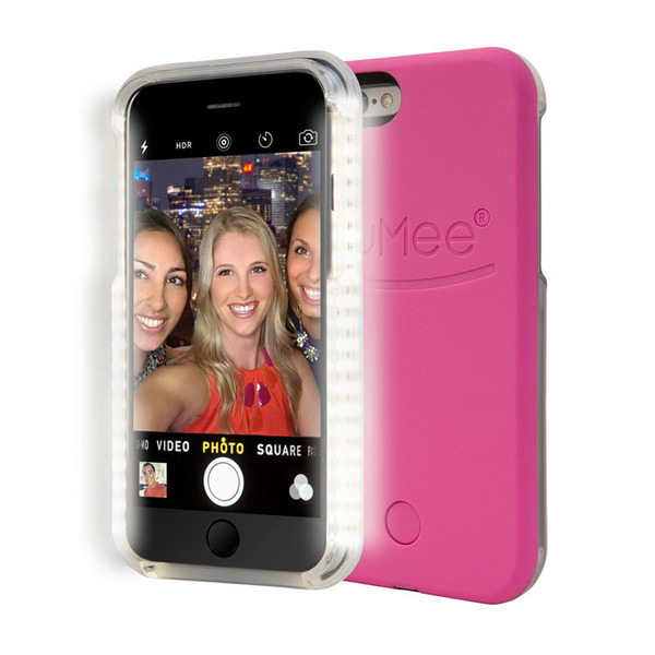 LuMee Lighted Phone Case iPhone 6 Plus / 6S Plus(Hot Pink)