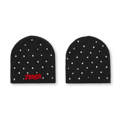 I Run This Studded Beanie バーニー